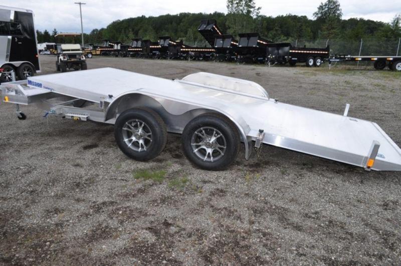 2017 Mission All Aluminum 18' Tilt Car Trailer in Ashburn, VA
