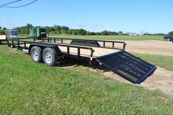 "2020 Sure-Trac 82"" x 18' Tube Top Utility Trailer"