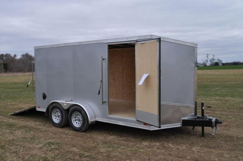 2020 Discovery 7 x 14 Enclosed Cargo Trailer w/ Wedge Nose in Ashburn, VA