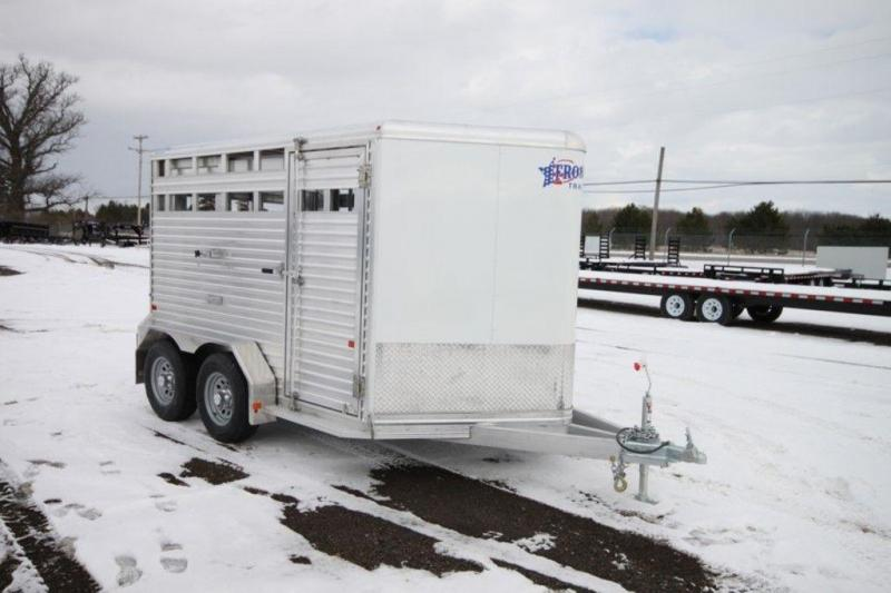 2017 Frontier 7 x 12 Livestock Trailer