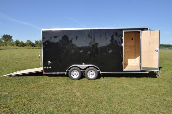 2020 Stealth Trailers 7 x 18 Wedge Nose Enclosed Cargo Trailer