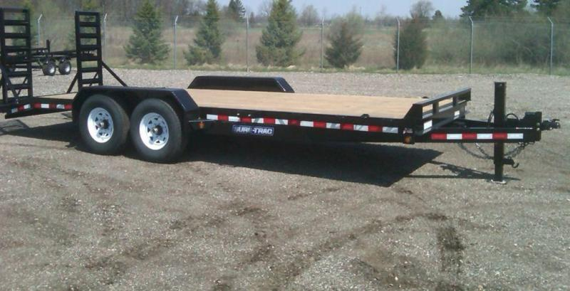 2019 Sure-Trac 7 x 20 HD Implement Trailer   8x20 Trailers