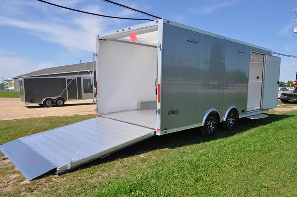 2020 inTech Trailers 8.5 x 20 All Aluminum Car / Racing Trailer