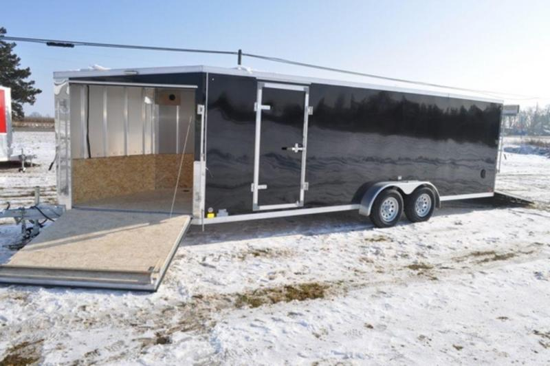 2019 Haul-It 7 x 27 Inline All Aluminum Snowmobile Trailer