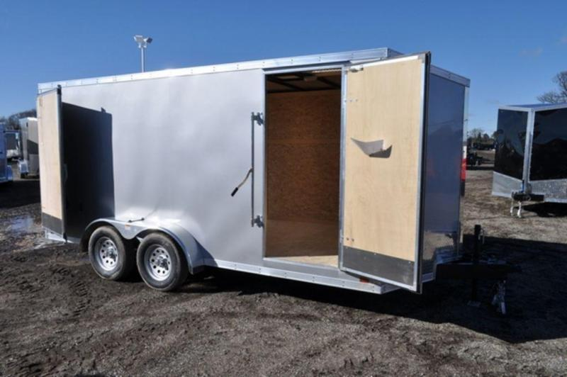 2020 Discovery 7 x 16 Enclosed Cargo Trailer w/ Barn Doors in Ashburn, VA