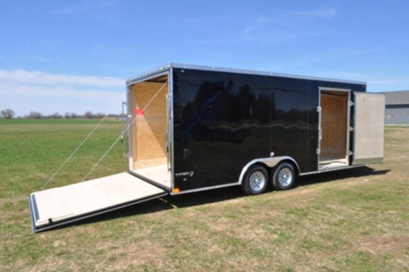 2020 Stealth 8.5 x 20 Enclosed Wedge Nose Car Trailer in Ashburn, VA