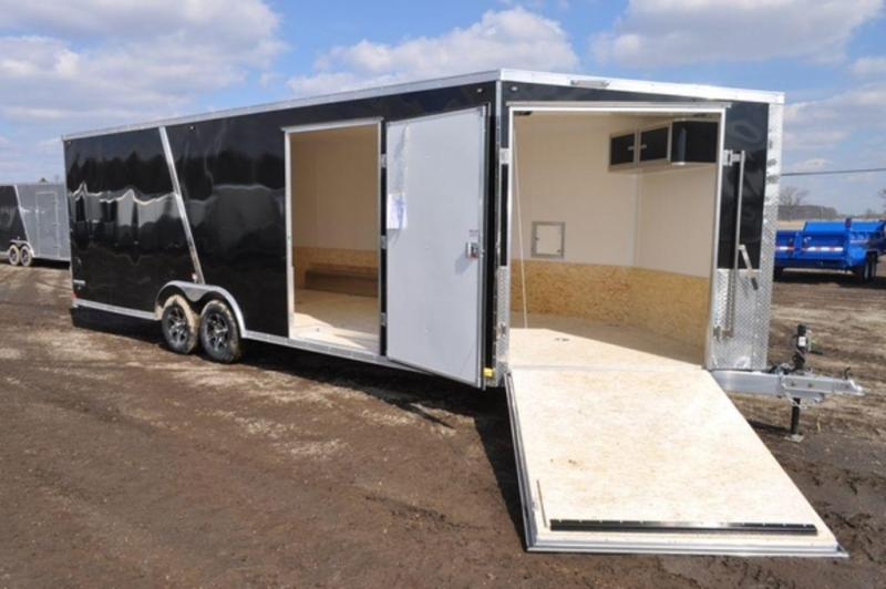 2020 All Aluminum Stealth 8.5 x 29 Enclosed 10K Car/Combo Trailer
