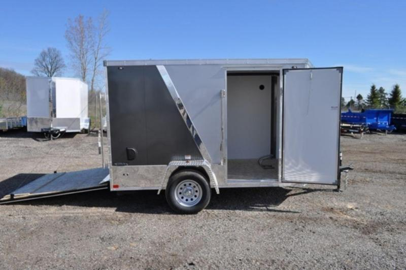 2020 Stealth 6 x 10 Two Tone Motorcycle Trailer