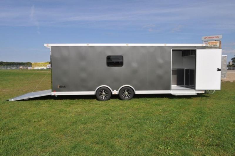 2019 inTech All Aluminum 8.5 x 26 Loaded Car Trailer in Ashburn, VA