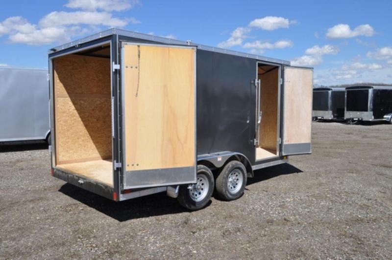 2020 Discovery 7 x 14 Enclosed Cargo Trailer w/ Barn Doors in Ashburn, VA