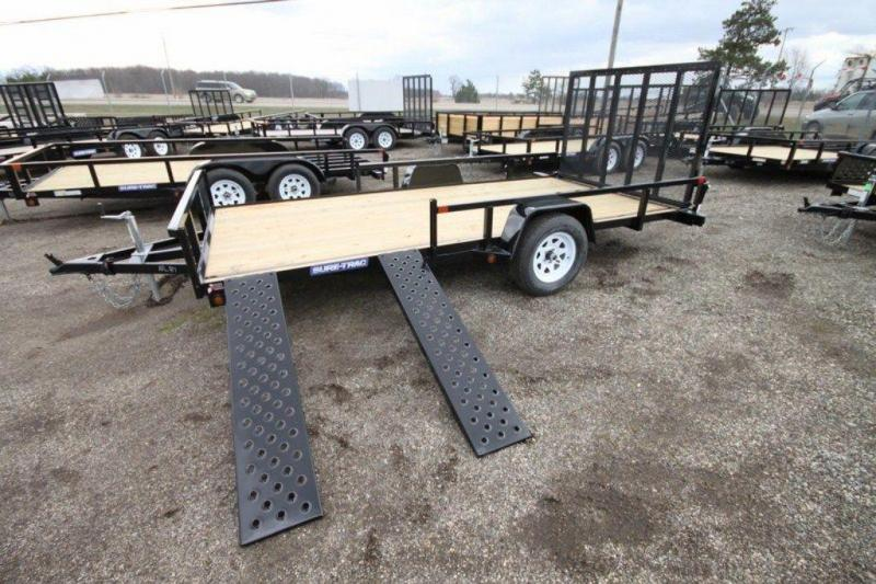 2019 Sure-Trac 82' x 14' Open ATV Side Loading Utility Trailer For Sale