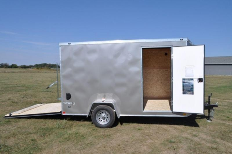 2019 Stealth 7 x 12 Enclosed Cargo Trailer For Sale in Michigan!!