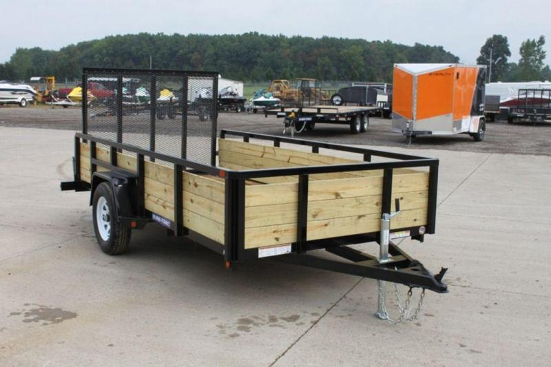 2019 Sure-Trac 6 x 12 3 Board High Utility Trailer For Sale