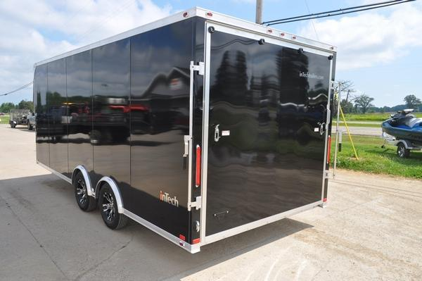 2019 inTech Trailers 8.5 x 20 Enclosed Car Trailer for Sale Car / Racing Trailer