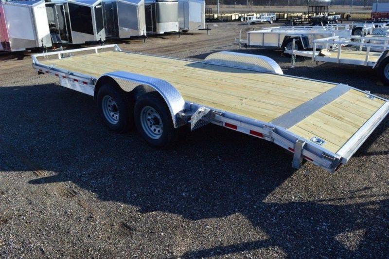 """2020 Haul-It Aluminum Open Wood Deck 82"""" x 20' Car Trailer in Ashburn, VA"""