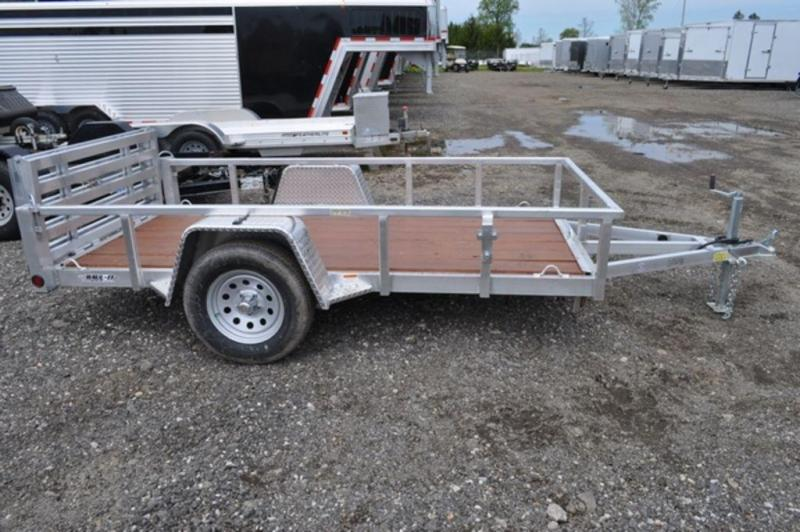 2019 All Aluminum Open 5 x 10 Tube Top Utility Trailer