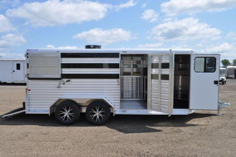 2018 Frontier 7 x 16 Low Profile Livestock Trailer