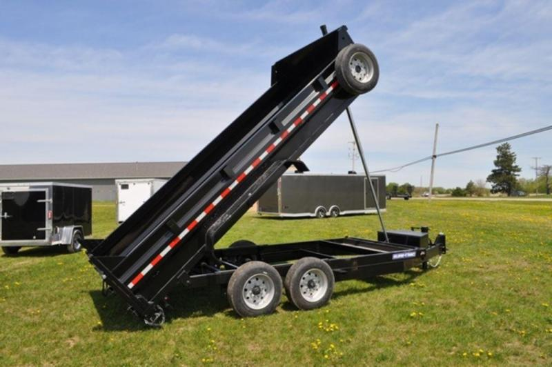 "2019 Sure-Trac 82"" x 16' Low Pro 16K Telescopic Dump Trailer"
