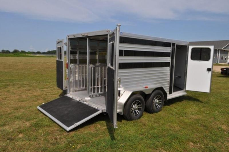 2019 Frontier 7 x 12 Low Profile Livestock Trailer