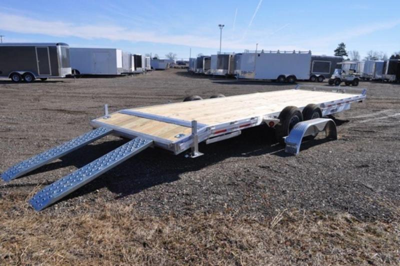 2020 Haul-It 24 ft Open All Aluminum Car Trailer in Ashburn, VA