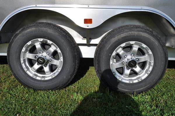 2020 Triton 8.5 x 24 Combo Trailer / Snowmobile Trailer For Sale