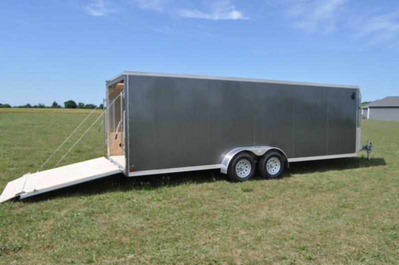 2019 Haul-It 7 x 27 Inline All Aluminum Sled Trailer