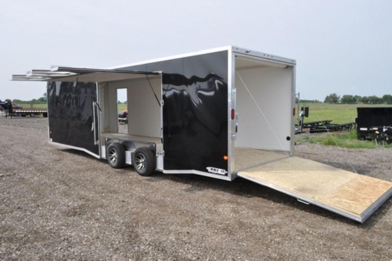 2018 All Aluminum Enclosed 8.5 x 28 Car Trailer w/Full Escape Door in Ashburn, VA