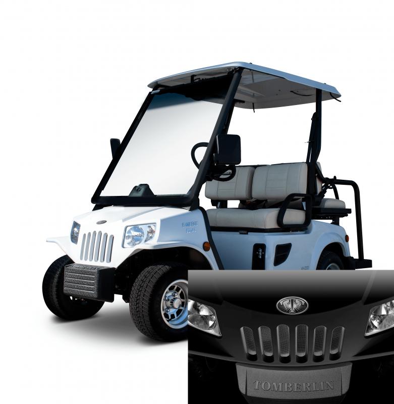 E-Merge E2 REVENGE | Tomberlin | Black Golf Cart | 2019