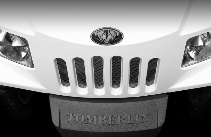 E-Merge E2 REVENGE   Tomberlin   White Golf Cart   2019