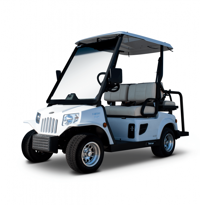 E-Merge E2 REVENGE | Tomberlin | White Golf Cart | 2019