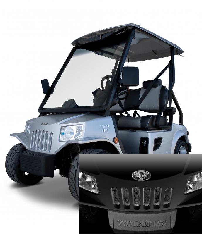 E-Merge E2 LE PLUS | Tomberlin | Black Golf Cart | 2019