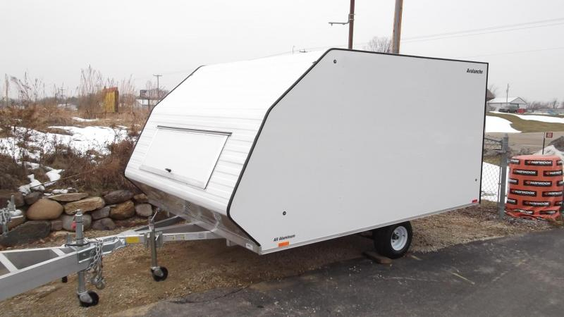 2017 Lightning 8x11 Two Place Hybrid Snowmobile Trailer