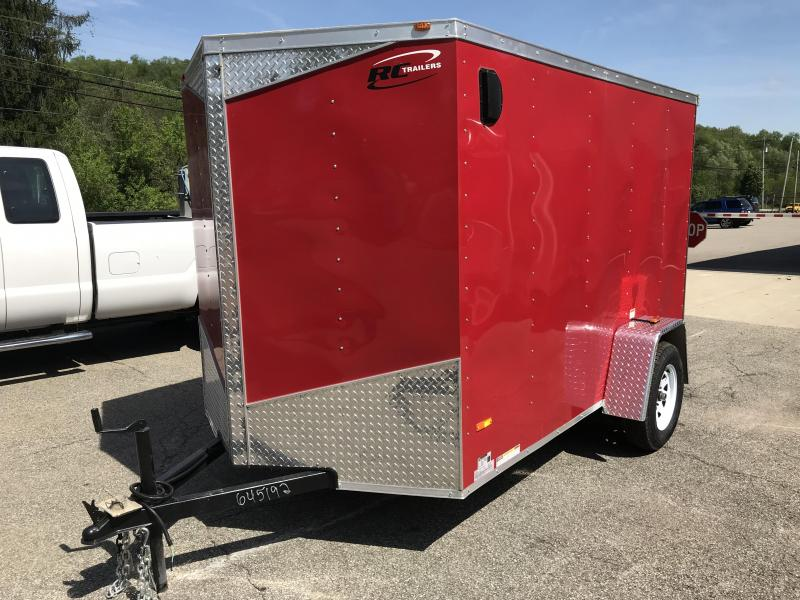 2018 RC Trailers RWT6x10SA Enclosed Cargo Trailer