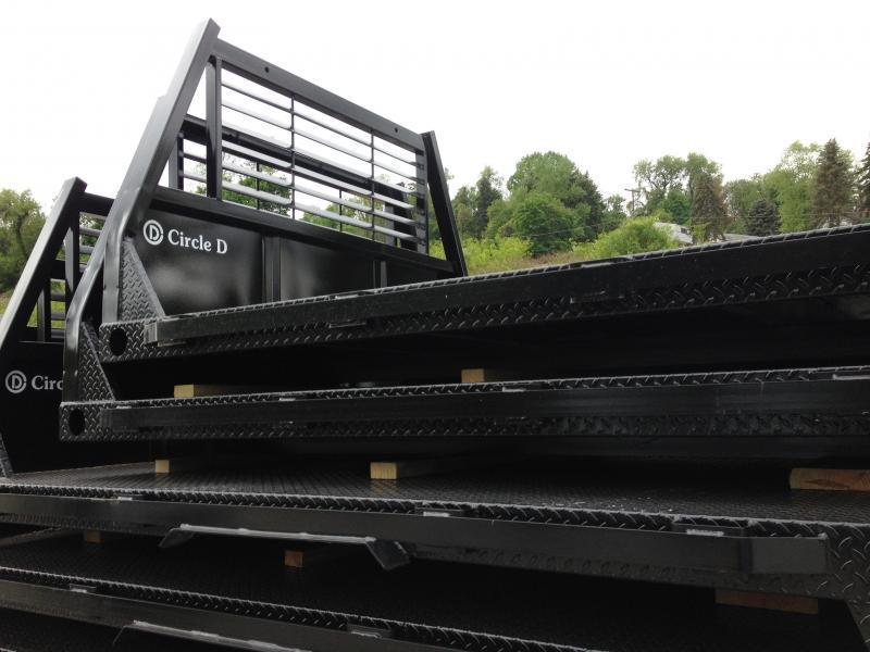 2018 Circle D Flat Bed Deluxe 84 x 102 Truck Bed