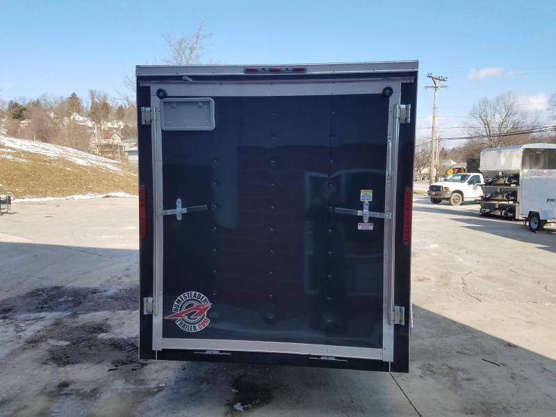 2019 Homesteader Trailer 6X12 V Nose Trailer Enclosed Cargo Trailer