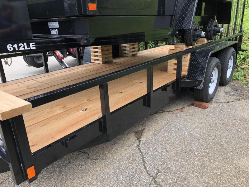 2018 Bri-Mar BREH18-10LE-HDLS Equipment Trailer