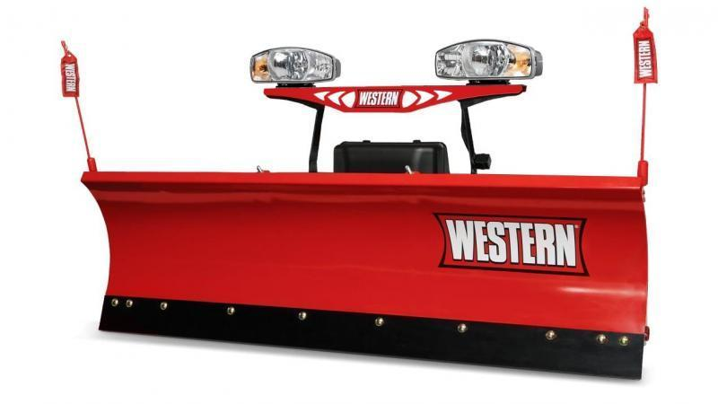 2018 Western Poly Midweight 7ft 6in Snow Plow