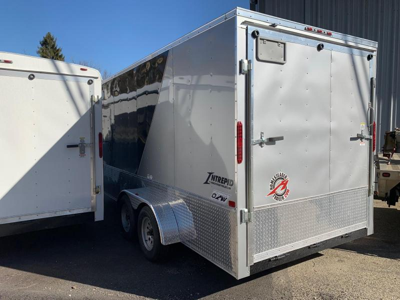 2019 Homesteader Trailer 7X16 V Nose Trailer Enclosed Cargo Trailer