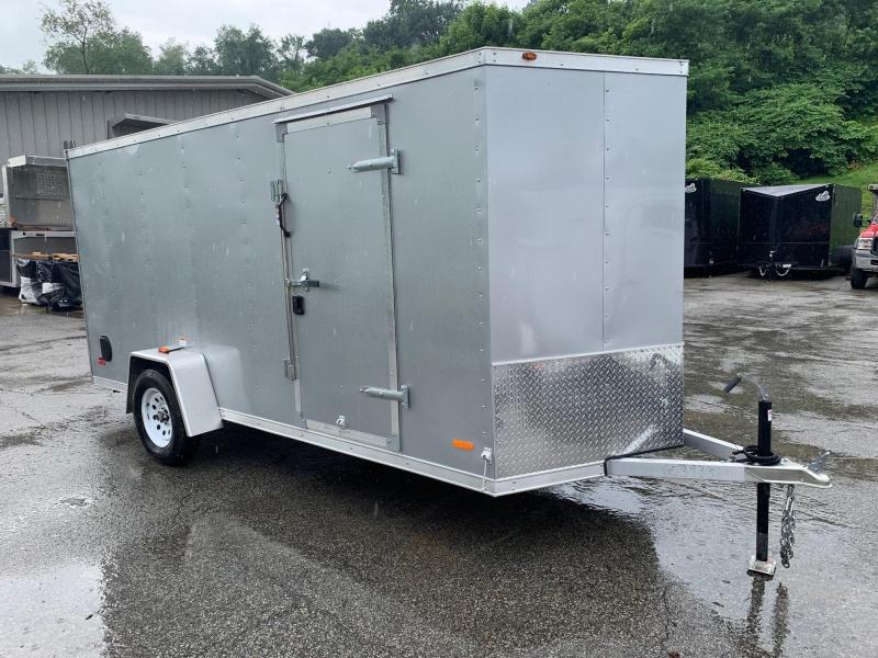 2019 RC ALUMINUM Trailer 6X14 V Nose Trailer Enclosed Cargo Trailer