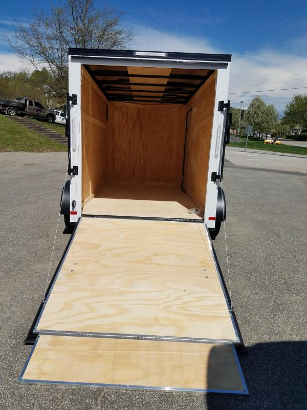 2019 Covered Wagon Trailer 6X12 V Nose Trailer Enclosed Cargo Trailer