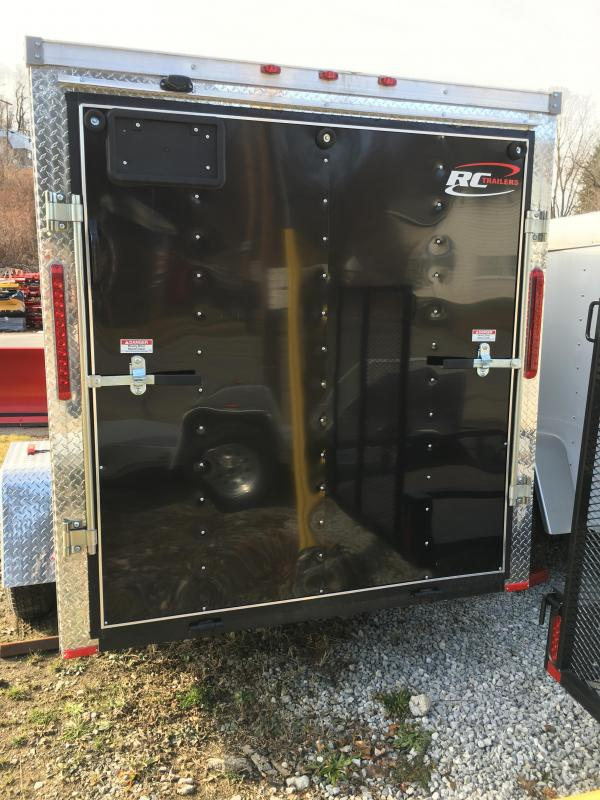 2018 RC Trailers 6x14SA RWT V Nose Trailer Enclosed Cargo Trailer