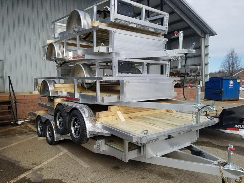 2018 Wolverine Trailers 5DT 7X20T Car / Racing Trailer