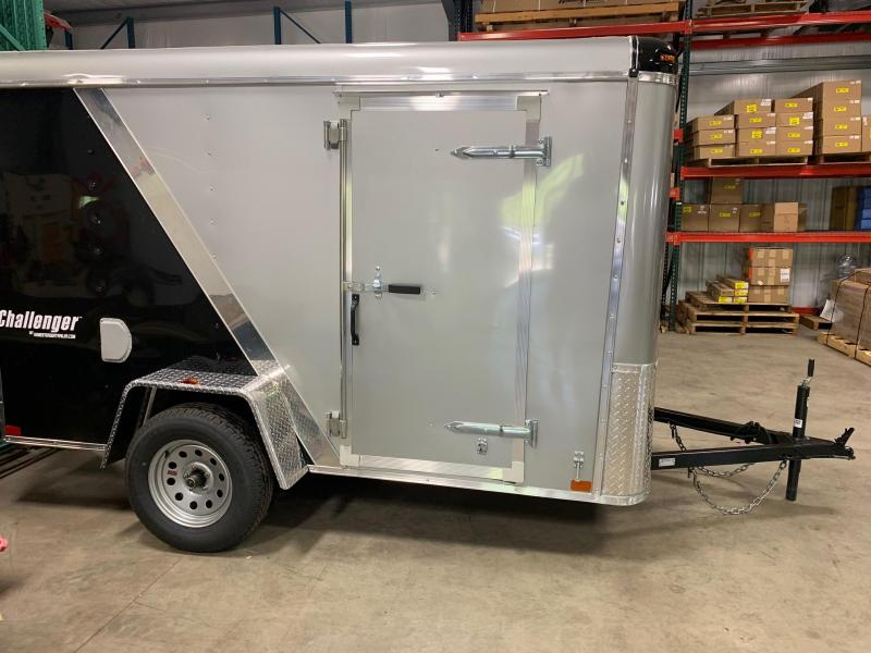 2019 Homesteader Trailer 6X10 Flat Nose Trailer Enclosed Cargo Trailer