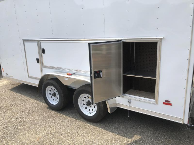 2018 RC Trailers 7x16 Toolbox Trailer Enclosed Cargo Trailer