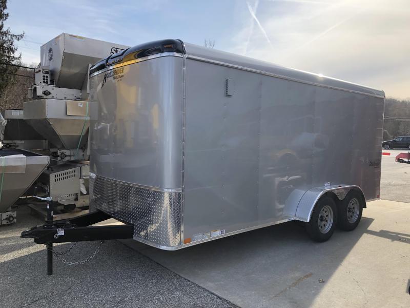2019 Homesteader Trailer 7X16 Flat Nose Trailer Enclosed Cargo Trailer