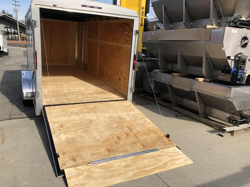 2019 Homesteader Trailer 7X16 Flat Nose Trailer Enclosed Cargo Trailer