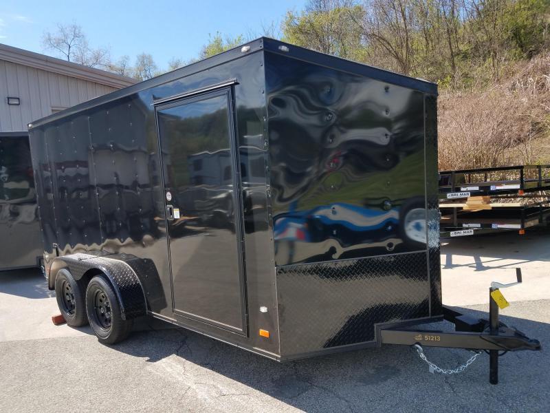 2019 Covered Wagon Trailer 7X14 V Nose Trailer Enclosed Cargo Trailer