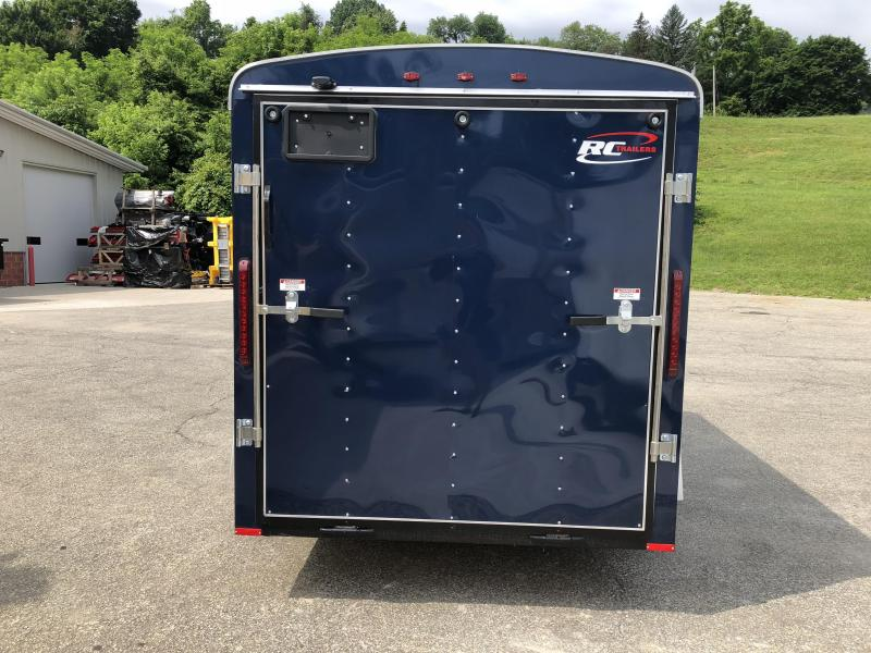2018 RC Trailers Flat Front Enclosed Cargo Trailer