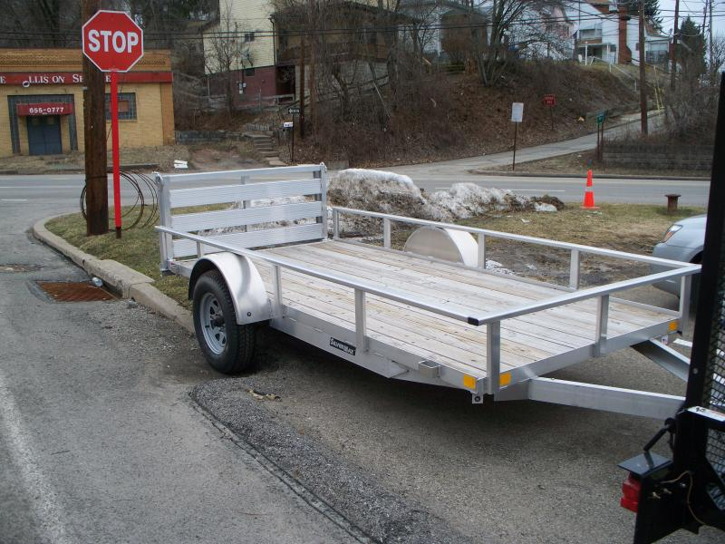 2017 RC Trailers Aluminum open utility Utility Trailer