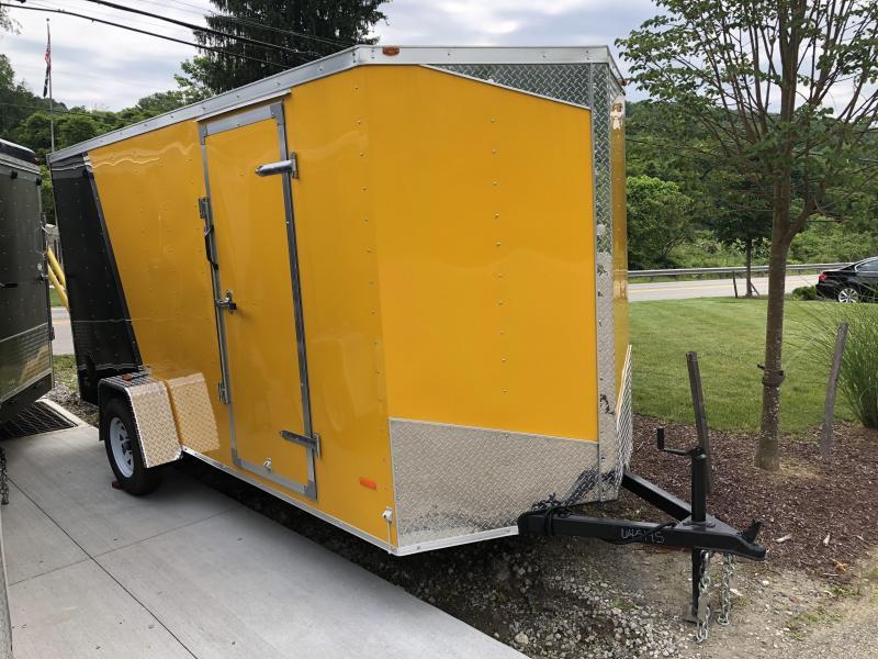 2018 RC Trailers RWT V Nose Trailer Enclosed Cargo Trailer
